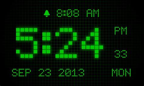 alarm digital clock 7