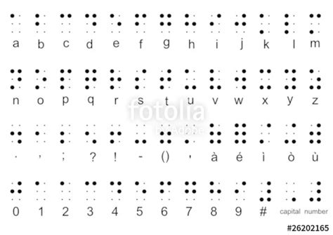 lettere braille quot braille alphabet quot stock image and royalty free vector