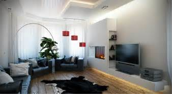 living white room: black white red living room sofa modern olpos design