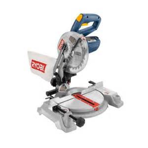 miter saw home depot ryobi 9 7 1 4 in compound miter saw with laser