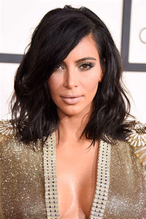 pinterrst kim kardshian bob haircut kim kardashian shoulder length hair 2015 google search
