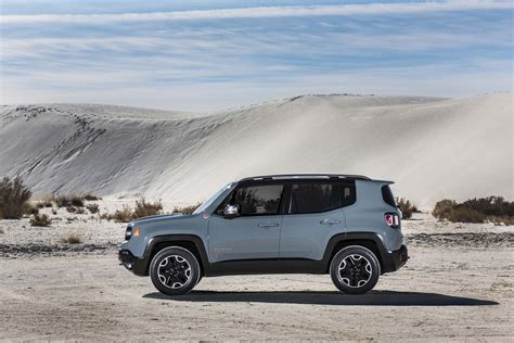 Jeep Trailhawk Mpg 2015 Jeep Renegade Trailhawk Side Profile Photo 13