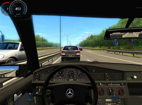 Auto Report Indir by City Car Driving 3d Instructor 2 2 7 G27 Mercedes 190e Mod