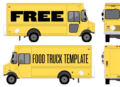 food truck layout template other design images gallery category page 397 designtos