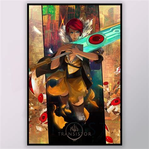 transistor artist transistor 24 quot x 36 quot poster supergiant