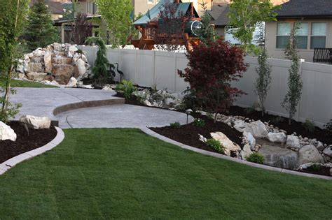 100 home landscape design colonial home front yard