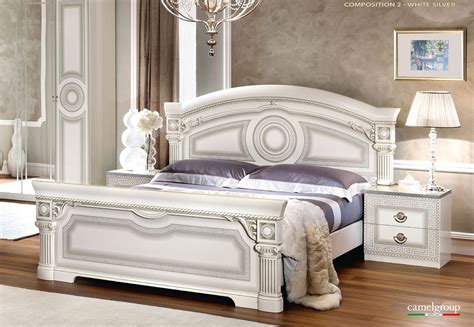 Italian Furniture Bedroom Aida White Italian Bedroom Furniture