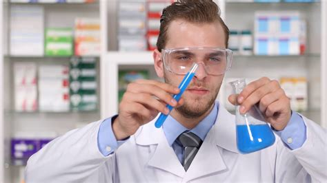 pharmaceutical industry research lab chemist man develop