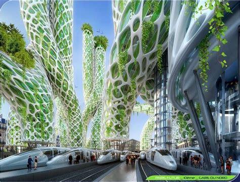 architetture citt visioni riflessioni futuristic smart city vision of paris in 2050 by ar vincent c