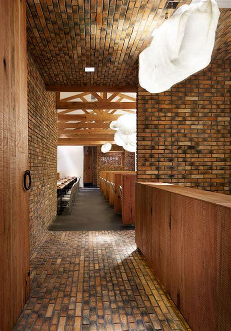 modern   rustic restaurant decor interiorzine
