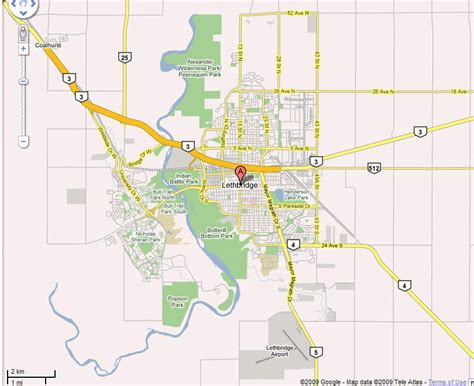 map lethbridge alberta canada lethbridge security guard patrol services company