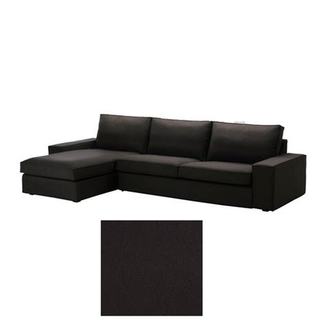chaise couch slipcover ikea kivik 3 seat sofa w chaise longue slipcover cover