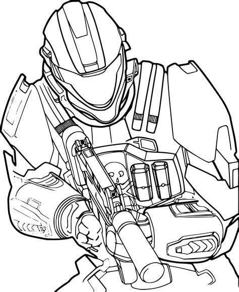 Coloriage Halo Dessin 224 Imprimer Sur Coloriages Info Station Coloring Page