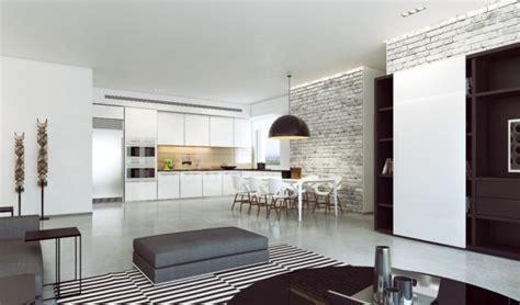 hinterhof küche ideen design offene wohnzimmer k 252 che