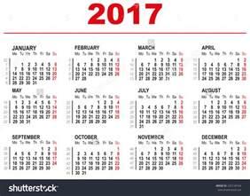 calendar week 2017 blank calendar 2017