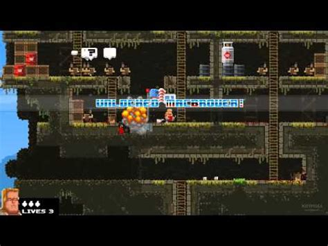 broforce full version youtube quick look broforce with gameplay video