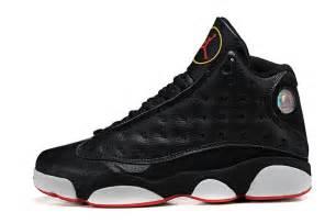 Nike air jordan 13 men s shoes black shoes men