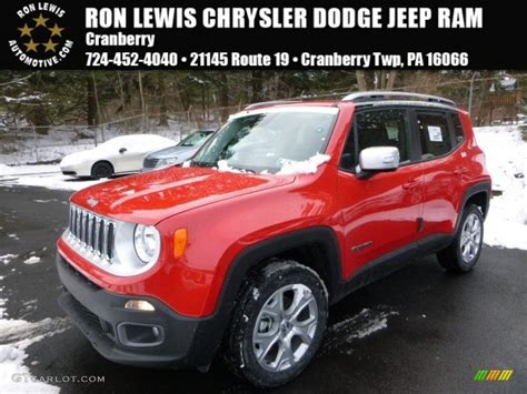 red jeep renegade 2016 2016 colorado red jeep renegade limited 4x4 110115556