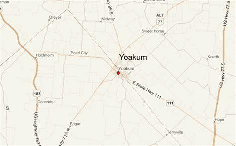 yoakum texas map yoakum location guide