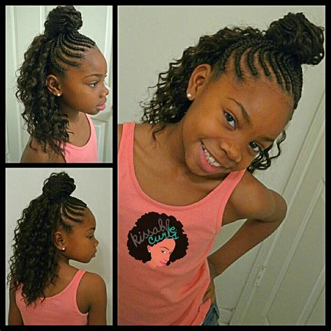 crochet braids for kids girls crochet braids style freetress deep twist kissable