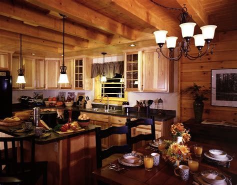 interior kitchen decoration interior casual log cabin homes interior kitchen decoration using solid unfinished wood kitchen