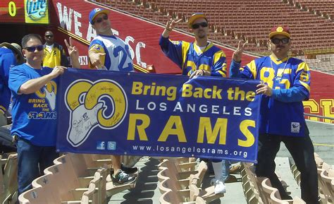 rams moving to los angeles 2015 is los angeles getting an nfl team or two nat geo