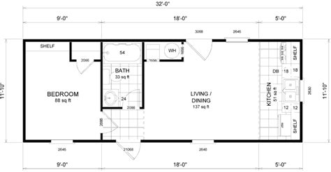 Tiny Houses On Wheels Interior Micro Homes Floor Plans Tiny House Layout Plan