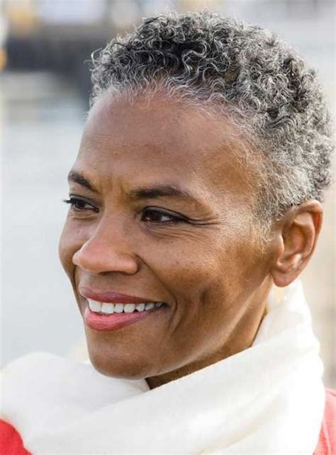 Extremely Short Hair Cuts For Women With Gray Hair Over 50 Years Old | very short natural hairstyles for black women the best
