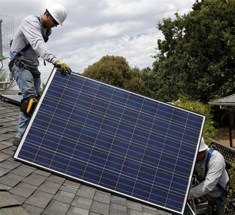 what holds up a solar house how much is your solar power worth the fight solar s future sfgate