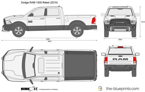 Blank Templates Struckndesign Dodge Ram Wrap Template