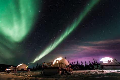 vacation packages to see northern lights borealis basec northern lights viewing winter alaska