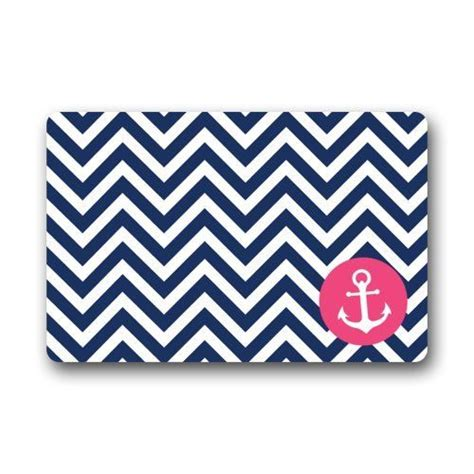 navy blue and white chevron rug navy blue and white chevron pattern with pink anchor door mat doormat rugs for home