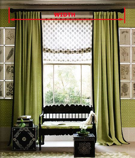 recessed window curtains how to measure curtains