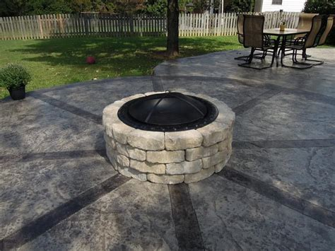how to make a firepit 4 ways to make a pit pit design ideas