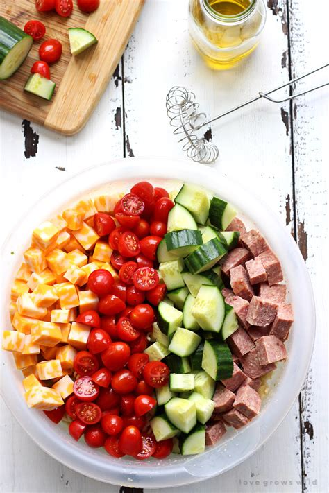 pasta salad recipes with italian dressing pasta salad with italian dressing and cucumbers