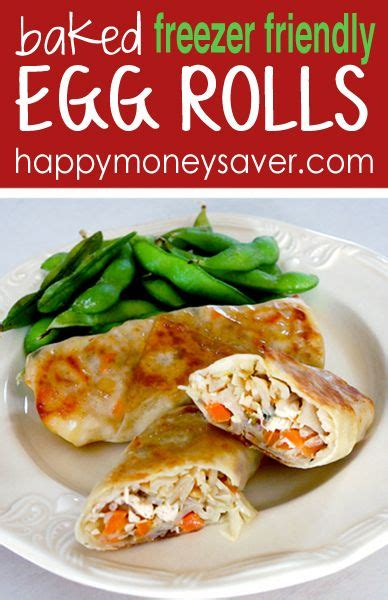 Bento Egg Chicken Roll Frozen Homade check out baked egg roll recipe freezer meal it s so easy to make chicken eggs