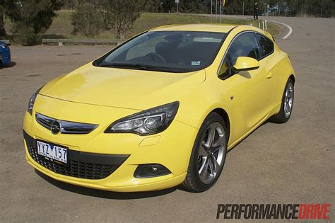opel yellow 2012 opel astra gtc review australian launch