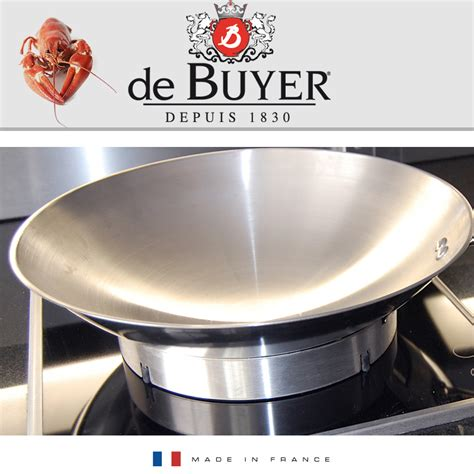 dei buyer de buyer carbone plus stand for wok aisa iron wok