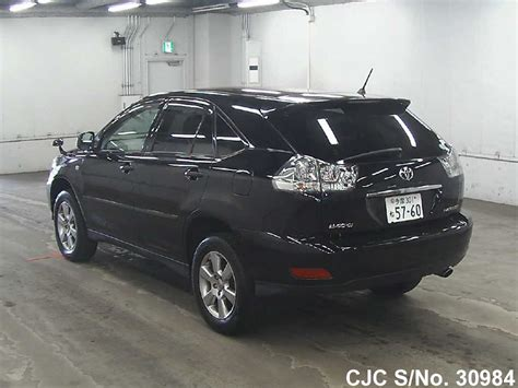 2550337 japan used toyota harrier 2006 toyota harrier black for sale stock no 30984