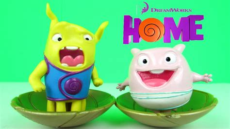 dreamworks home mood figures in eggs review