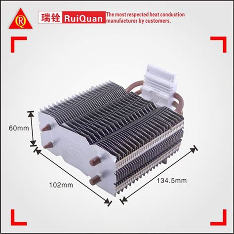 thermoelectric heat sink aluminum fins cpu heat sink with copper heat pipe for