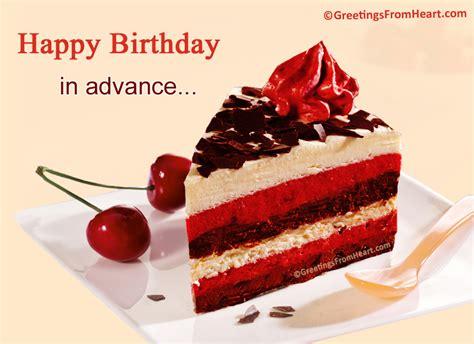 Advance Birthday Cards Advance Happy Birthday Wishes Cards Www Imgkid Com The