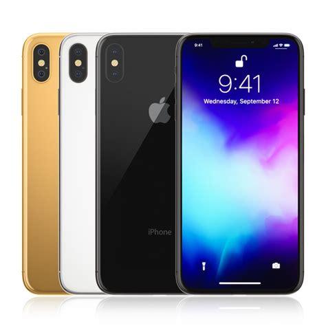 apple iphone colors turbosquid