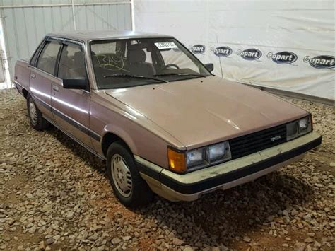 1984 toyota le jt2sv16exe0112291 1984 brown toyota camry le on sale in