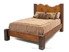 Santa Fe Home Decor barn wood bed reclaimed wood bed western bed lodge