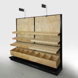 store display shelving bakery display shelves wood store fixtures