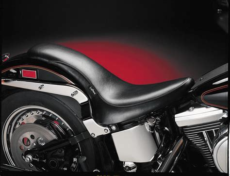 le pera lk 890 king cobra seat for harley softail with 200mm tire 06 13