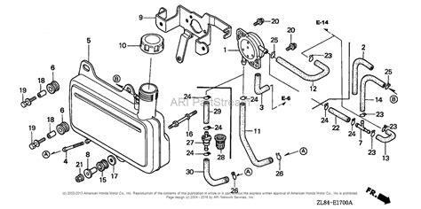 honda gc160 parts diagram honda engines gc160 vxa engine jpn vin gcah 1000001 to