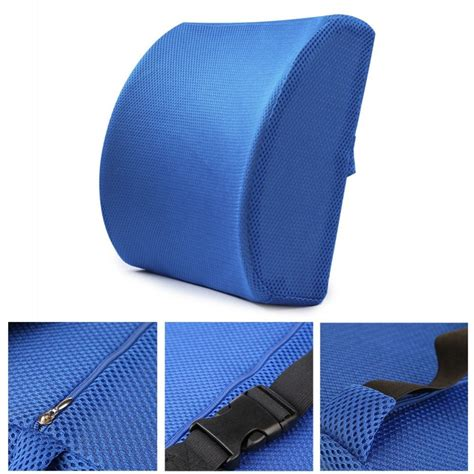 lower back support pillow for chair lumbar support pillow memory foam chair cushion supports