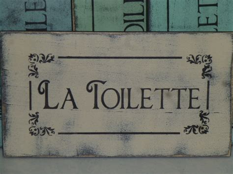 french bathroom sign unavailable listing on etsy